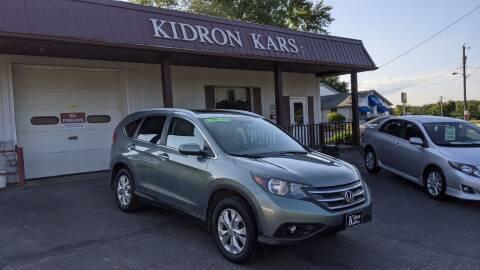 2012 Honda CR-V for sale at Kidron Kars INC in Orrville OH