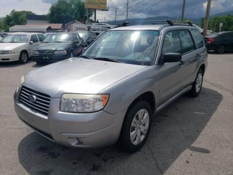 2008 Subaru Forester for sale at Salem Auto Sales in Salem VA