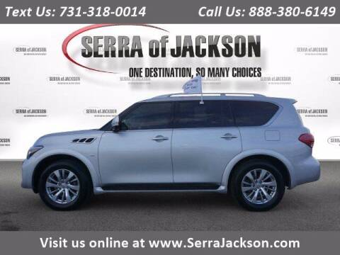 2017 Infiniti QX80 for sale at Serra Of Jackson in Jackson TN