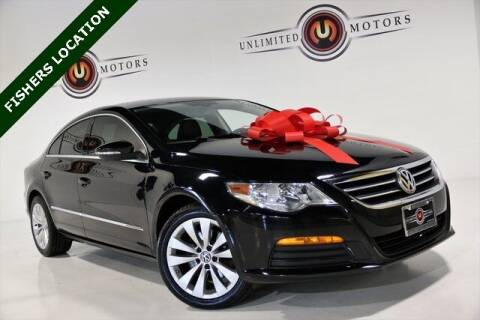 2012 Volkswagen CC for sale at Unlimited Motors in Fishers IN