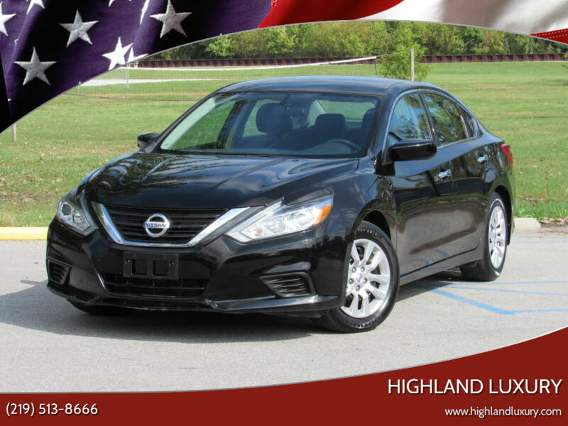 2018 Nissan Altima for sale at Highland Luxury in Highland IN