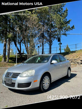 2008 Volkswagen Jetta for sale at National Motors USA in Federal Way WA