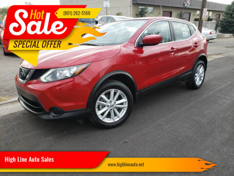 2018 Nissan Rogue Sport for sale at High Line Auto Sales in Salt Lake City UT