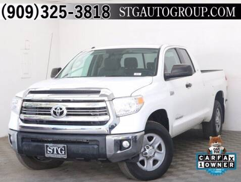 2017 Toyota Tundra for sale at STG Auto Group in Montclair CA
