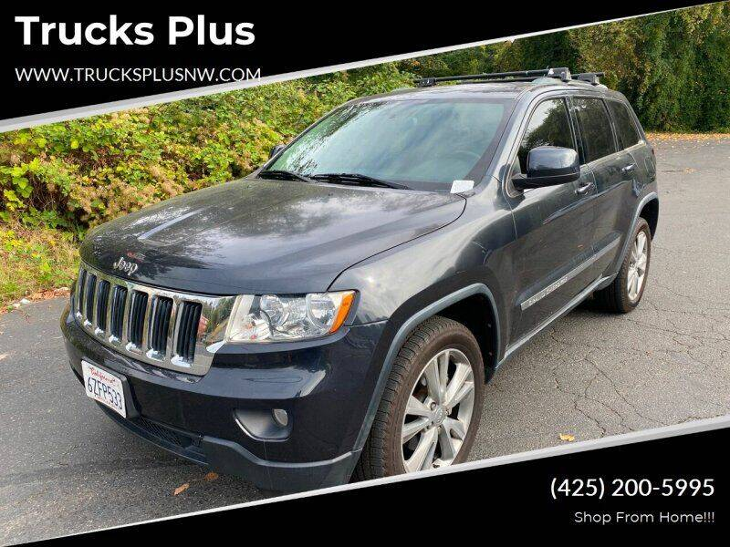2013 Jeep Grand Cherokee for sale at Trucks Plus in Seattle WA