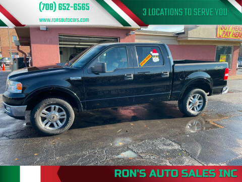 2005 Ford F-150 for sale at RON'S AUTO SALES INC in Cicero IL