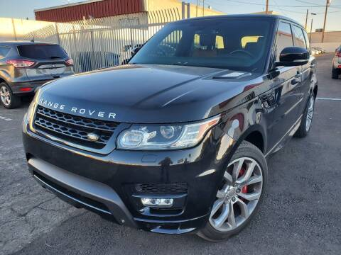 2015 Land Rover Range Rover Sport for sale at Auto Center Of Las Vegas in Las Vegas NV