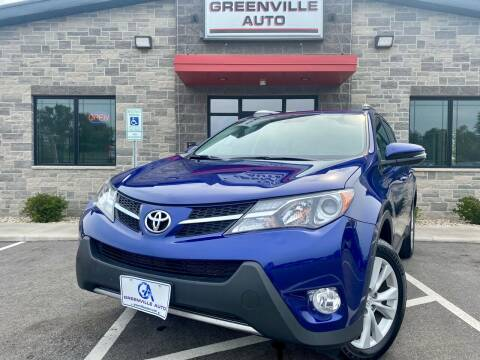 2015 Toyota RAV4 for sale at GREENVILLE AUTO in Greenville WI
