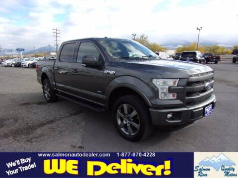 2015 Ford F-150 for sale at QUALITY MOTORS in Salmon ID