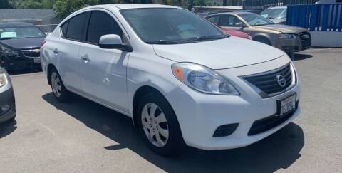 2014 Nissan Versa for sale at GRAND AUTO SALES - CALL or TEXT us at 619-503-3657 in Spring Valley CA