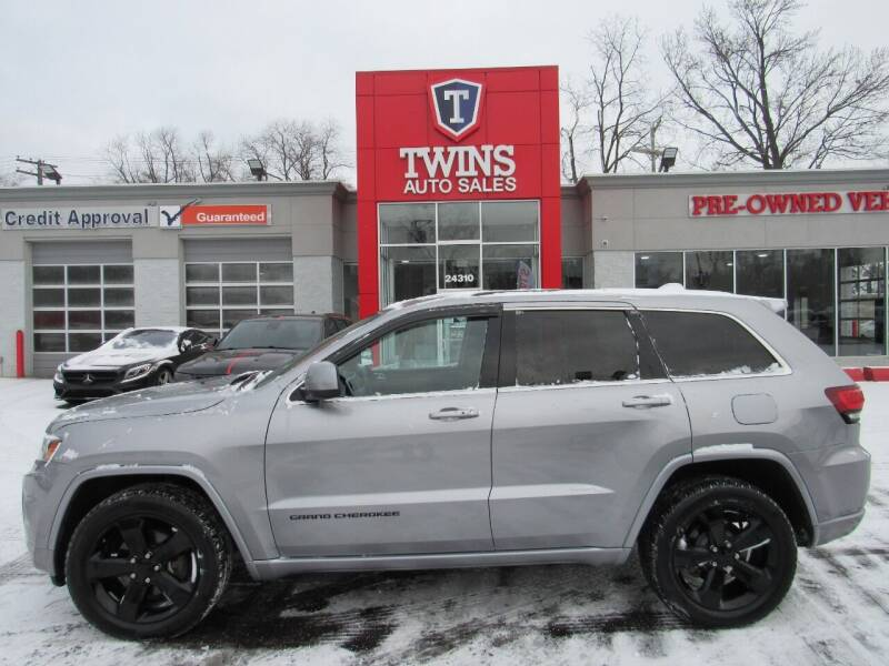 2015 Jeep Grand Cherokee for sale at Twins Auto Sales Inc in Detroit MI