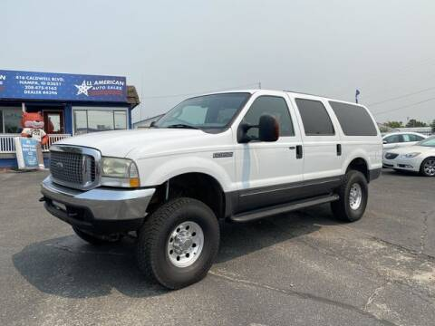 2004 Ford Excursion for sale at All American Auto Sales LLC in Nampa ID