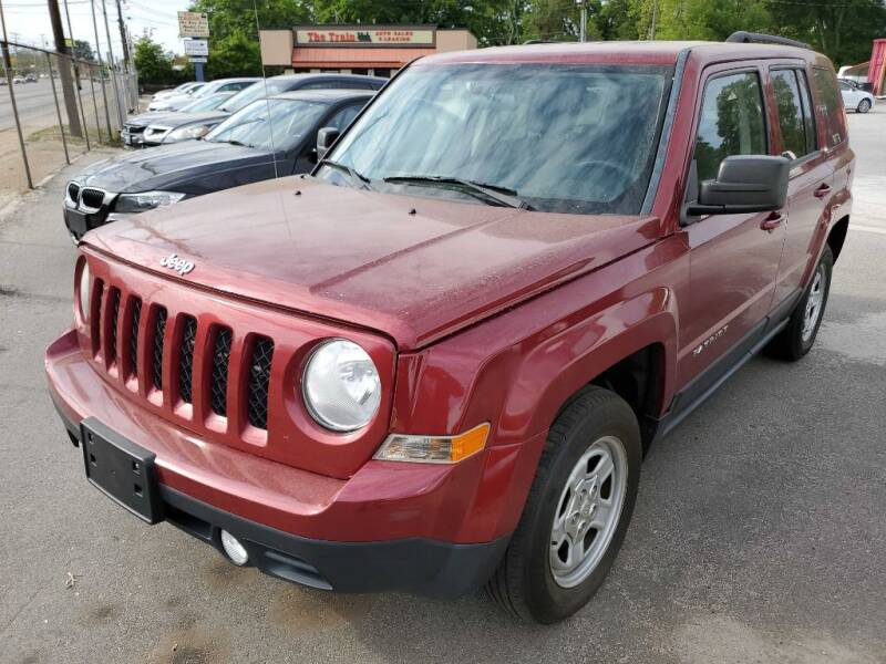 2014 Jeep Patriot for sale at THE TRAIN AUTO SALES & LEASING in Mauldin SC