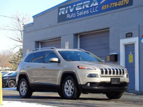 2015 Jeep Cherokee for sale at Rivera Auto Sales LLC in Saint Paul MN