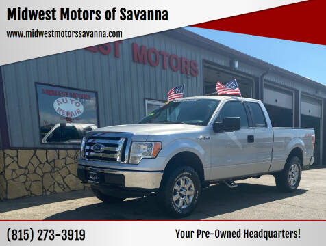 2012 Ford F-150 for sale at Midwest Motors of Savanna in Savanna IL