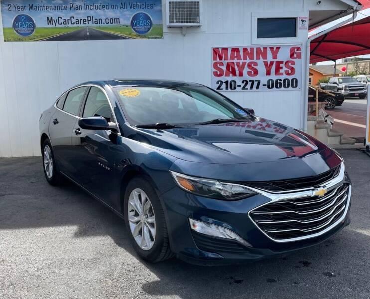 2019 Chevrolet Malibu for sale at Manny G Motors in San Antonio TX