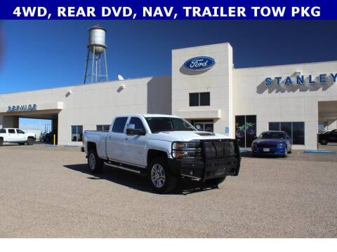2017 Chevrolet Silverado 2500HD for sale at STANLEY FORD ANDREWS in Andrews TX
