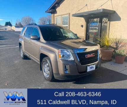 2011 GMC Terrain for sale at Western Mountain Bus & Auto Sales in Nampa ID