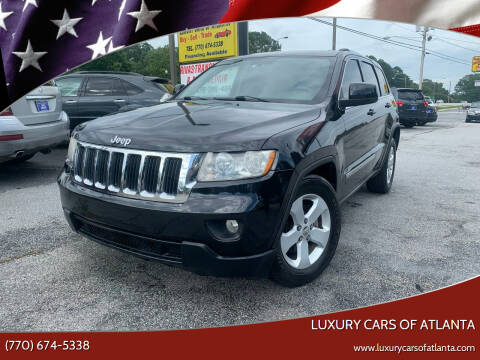 2011 Jeep Grand Cherokee for sale at Luxury Cars of Atlanta in Snellville GA