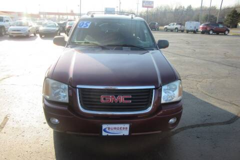 2005 GMC Envoy for sale at Burgess Motors Inc in Michigan City IN