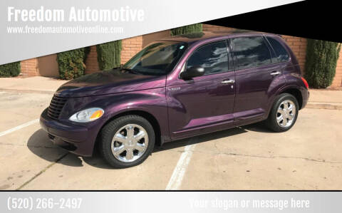 2004 Chrysler PT Cruiser for sale at Freedom  Automotive in Sierra Vista AZ