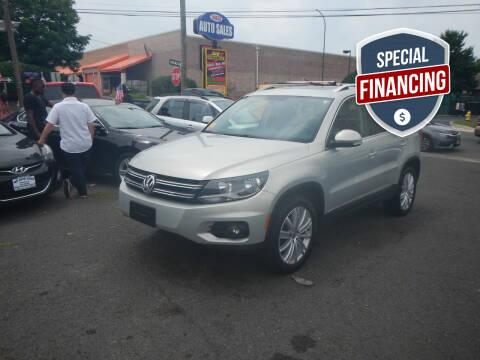 2015 Volkswagen Tiguan for sale at 103 Auto Sales in Bloomfield NJ