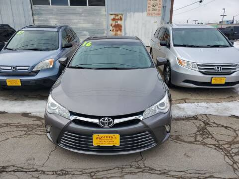 2016 Toyota Camry for sale at Brothers Used Cars Inc in Sioux City IA