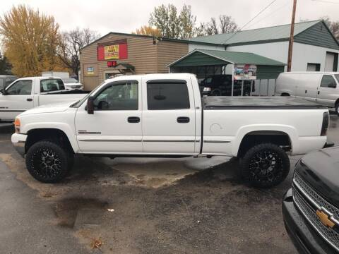 2002 GMC Sierra 2500HD for sale at FCA Sales in Motley MN