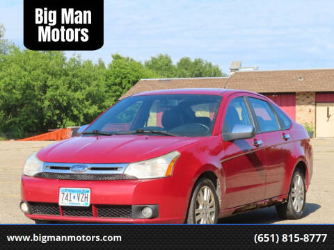 2010 Ford Focus for sale at Big Man Motors in Farmington MN