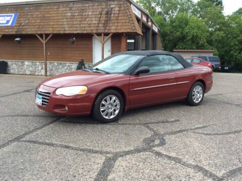 2006 Chrysler Sebring for sale at MOTORS N MORE in Brainerd MN
