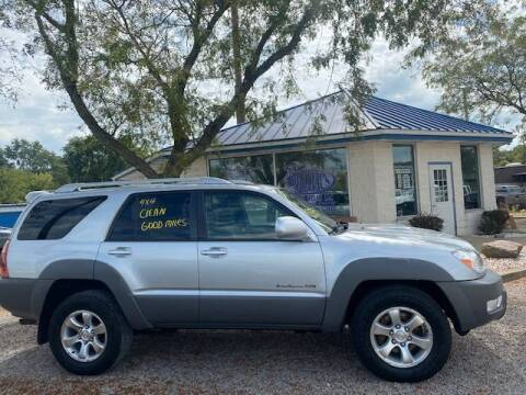 2003 Toyota 4Runner for sale at Wallers Auto Sales LLC in Dover OH