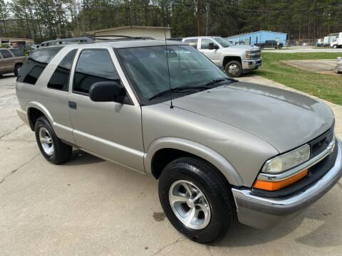 2001 Chevrolet Blazer for sale at Elite Motor Brokers in Austell GA