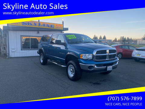 2005 Dodge Ram Pickup 2500 for sale at Skyline Auto Sales in Santa Rosa CA