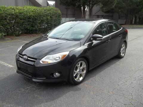 2012 Ford Focus for sale at Key Auto Center in Marietta GA