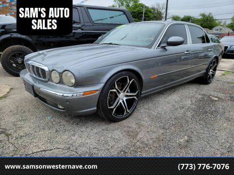2005 Jaguar XJ-Series for sale at SAM'S AUTO SALES in Chicago IL