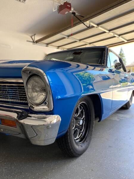 1966 Chevrolet Nova for sale at Steven Pope in Auburn CA