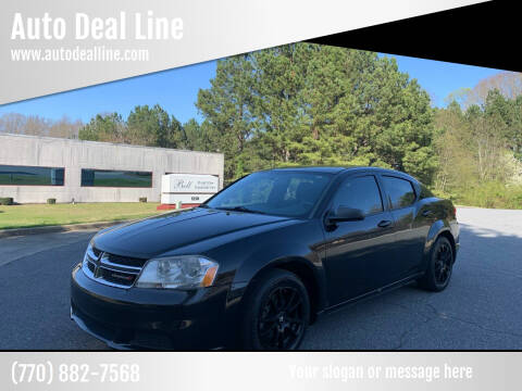 2014 Dodge Avenger for sale at Auto Deal Line in Alpharetta GA