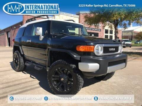 2008 Toyota FJ Cruiser for sale at International Motor Productions in Carrollton TX