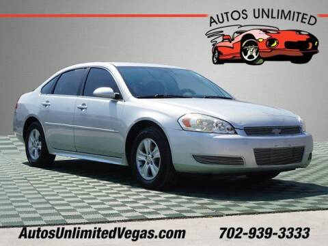 2015 Chevrolet Impala Limited for sale at Autos Unlimited in Las Vegas NV