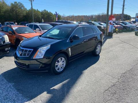 2012 Cadillac SRX for sale at Billy Ballew Motorsports in Dawsonville GA