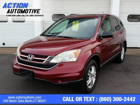 2010 Honda CR-V for sale at Action Automotive Inc in Berlin CT
