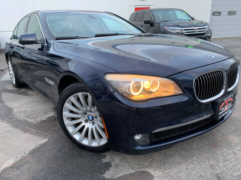 2011 BMW 7 Series for sale at JerseyMotorsInc.com in Teterboro NJ