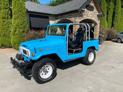 1972 Toyota Land Cruiser for sale at Hoyle Auto Sales in Taylorsville NC