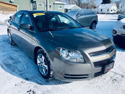 2011 Chevrolet Malibu for sale at SHEFFIELD MOTORS INC in Kenosha WI