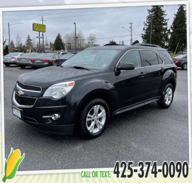 2012 Chevrolet Equinox for sale at Corn Motors in Everett WA