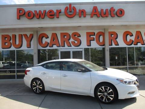 2016 Nissan Maxima for sale at Power On Auto LLC in Monroe NC