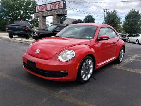 2012 Volkswagen Beetle for sale at I-DEAL CARS in Camp Hill PA