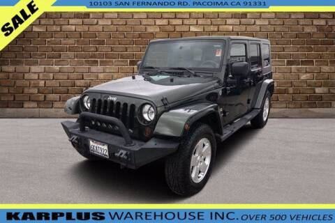 2010 Jeep Wrangler Unlimited for sale at Karplus Warehouse in Pacoima CA