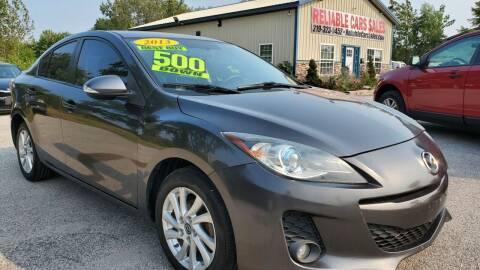 2013 Mazda MAZDA3 for sale at Reliable Cars Sales in Michigan City IN