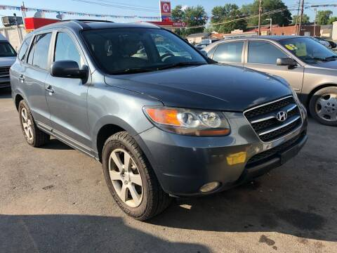 2007 Hyundai Santa Fe for sale at Wise Investments Auto Sales in Sellersburg IN